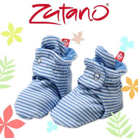 美國ZUTANO 純棉腳套(深藍條紋)