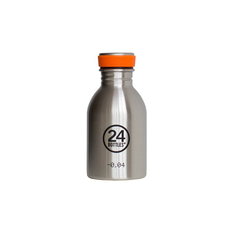 義大利 24Bottles 城市水瓶 250ml - 不鏽鋼
