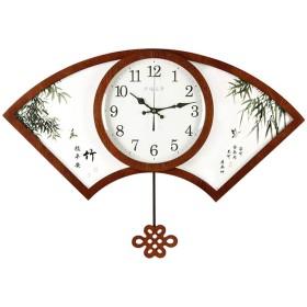 時計クリエイティブな雰囲気のクロックホーム人格ファッション時計をぶら下げデコ中国のウォールクロックリビングルーム中国風のウォールクロックアート (Color : BROWN, Size : 8358CM)