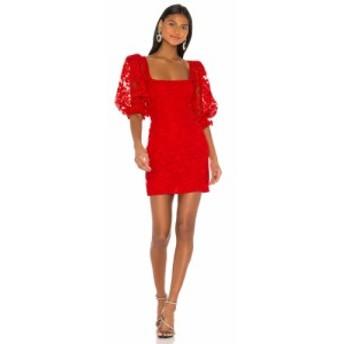 エルピーエー LPA レディース ワンピース ワンピース・ドレス Tonia Dress Red