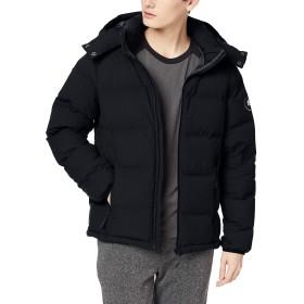[カナディアンイースト] アウトドア ジャケット シームレスダウンジャケット 防寒 耐水 透湿 軽量 ストレッチ CEW9001T ブラック 日本 S (日本サイズS相当)