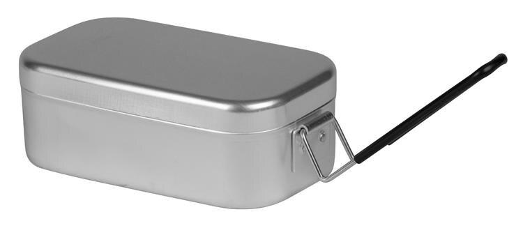 Trangia 瑞典方形鋁製便當盒/煮飯神器 Mess Tin TR-210 小黑把手 500210