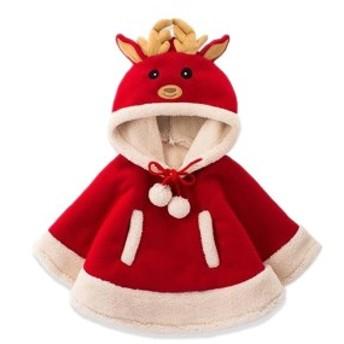 クリスマスジャケット あったかい 秋 冬 プレゼント コート鹿 贈り物 Merry Christmas 子供服 かわいい キッズ カジュアル ギフト