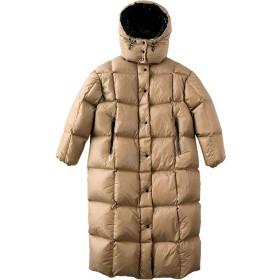 レディースコート・ジャケット 女性の冬のダウンコートフグのジャケット収納可能フード付きのアウトドアスポーツ旅行パーカー上着を温めます 防寒 防風 (Color : Brown, Size : M)