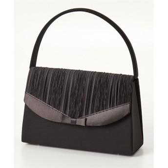 プリーツデザインフォーマルバッグ ショルダーバッグ・斜め掛けバッグ, Bags