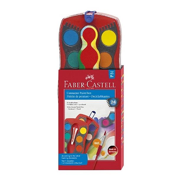 水彩  Faber-Castell輝柏 125029 24色連結粉餅水彩【文具e指通】 量販團購