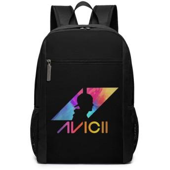 アヴィーチー Avicii リュックバック リュックナップザック バッグ ノートパソコン用のバッグ 大容量 バックパックチ キャンパス バックパック 大人のバックパック 旅行 ハイキングナップザック
