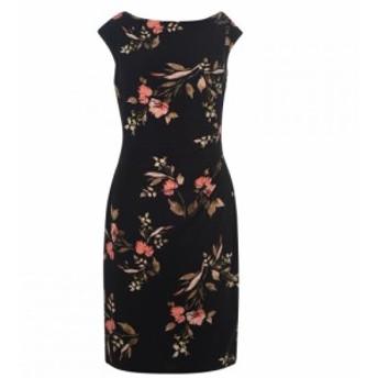 ラルフ ローレン Lauren by Ralph Lauren レディース ワンピース ワンピース・ドレス Novellina Cap Sleeve Dress Black Multi