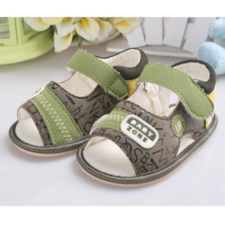 KUKI 酷奇時尚拼貼字母柔舒寶寶鞋☆男童鞋☆s0725  時尚設計童鞋