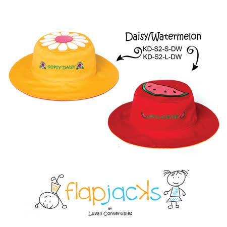 加拿大 flapjacks 兒童翻轉防曬帽-小雛菊&西瓜