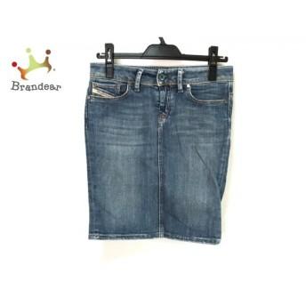 ディーゼル DIESEL スカート サイズ25 XS レディース 美品 ブルー デニム 新着 20191128