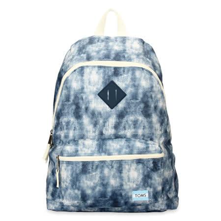 TOMS 時尚彩繪後背包-藍色