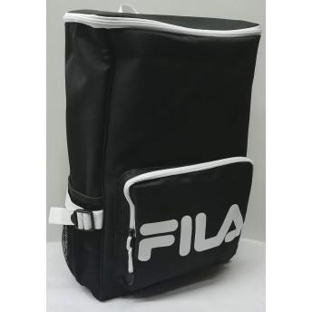 フィラ FILA ビッグロゴ ボックスリュック FIBM0362 クロ 4730円→4100円