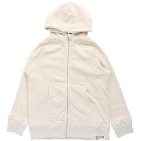 [エフオーキッズ]キッズ 子供服 ZIP パーカー(Jr) 160 キナリ