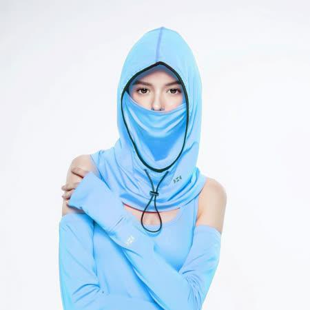 【HOII后益官方授權】HOII時尚頭套帽蒙面經典系列-藍