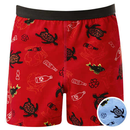 DADADO-海洋110-130男童內褲(藍)品牌推薦-舒適寬鬆-四角男褲