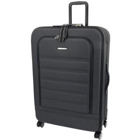 [セット品] (エスケープ) ESCAPE'S ソフトキャリー YU1803TS 大型(容量:約123リットル) ブラック ・ (レジェンドウオーカー)Legend walker 9097 透明スーツケースカバー Lサイズ 【合計2点セット】