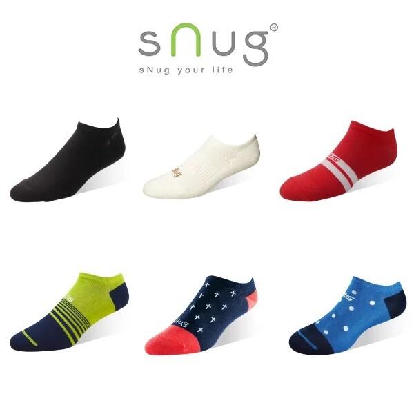 snug時尚船襪 (除臭襪/帆船襪/短襪)