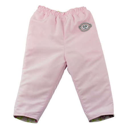 【愛的世界】SUPERMINI 保暖舖棉兩面穿長褲/3~4歲-台灣製-