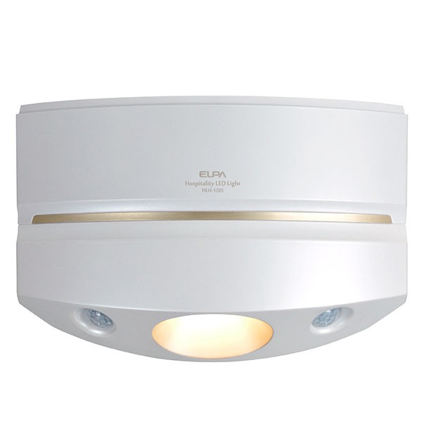 日本朝日電器 LED感應壁掛玄關燈 (HLH-1205PW) 黃光