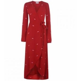 ファビエンヌ シャポット Fabienne Chapot レディース ワンピース ラップドレス ワンピース・ドレス Natasja E Wrap Dress ROMANCE RED