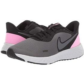 [ナイキ] レディーススニーカー・靴・シューズ Revolution 5 Black/Psychic Pink/Dark Grey (22.5cm) B - Medium [並行輸入品]