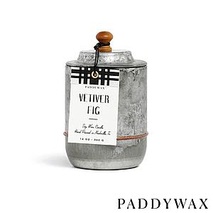 PADDYWAX Homestead系列 香氛蠟燭 Vetiver Fig 香根草無花果 340g