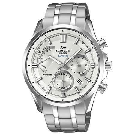 CASIO EDIFICE   極限速率三眼時尚腕錶-EFB-550D-7AVUDR
