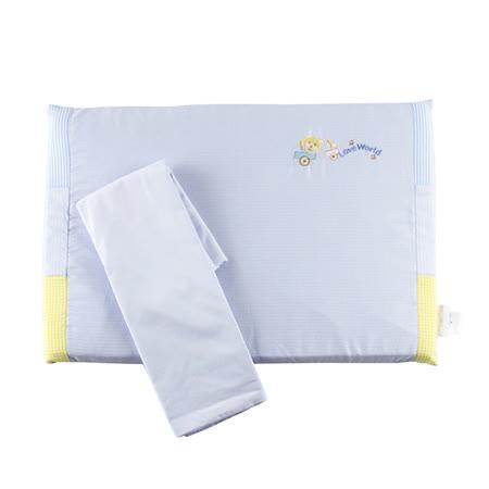 【愛的世界】LOVEWORLD 小熊木馬銀纖乳膠趴枕/45*30*2.5CM-台灣製-