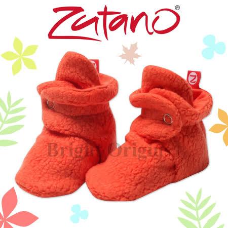 美國ZUTANO COZIE刷毛腳套(橙紅)