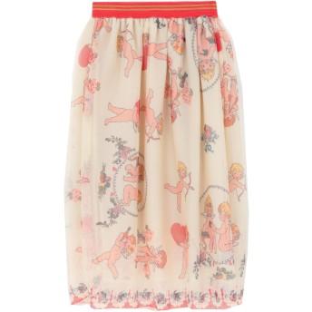 《セール開催中》ROSE' A POIS レディース 7分丈スカート アイボリー 40 ポリエステル 100%