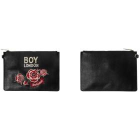 BOY LONDON(ボーイロンドン)☆ROSE EMBROIDERY CLUTCH BAG- B81CC1002U99