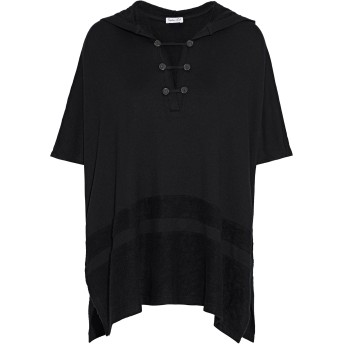《セール開催中》SPLENDID レディース T シャツ ブラック XS/S レーヨン 95% / ポリウレタン 5%