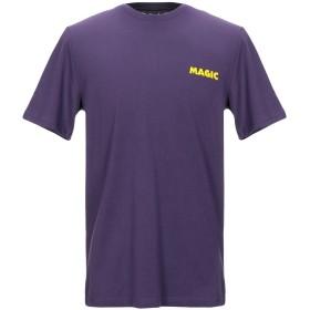 《セール開催中》PALETTE COLORFUL GOODS メンズ T シャツ パープル M オーガニックコットン 100%