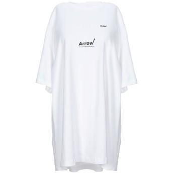 《セール開催中》ADER ERROR レディース T シャツ ホワイト one size コットン 100%
