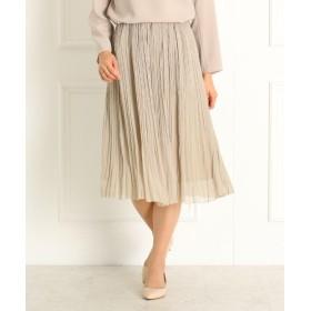 DRESSTERIOR(Ladies)(ドレステリア(レディース)) 【洗える】割繊ヨーリュー ギャザースカート