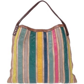 《セール開催中》CATERINA LUCCHI レディース ハンドバッグ サンド 牛革(カーフ) / 紡績繊維