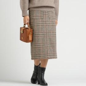 [マルイ]【セール】【socolla】ウールライクストレートロングスカート/メイソングレイ(MAYSON GREY)
