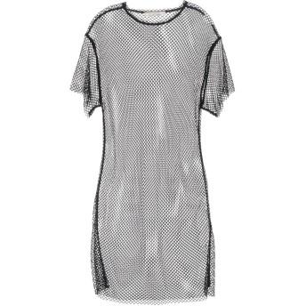 《セール開催中》LIVIANA CONTI レディース ミニワンピース&ドレス ブラック S ナイロン 95% / ポリウレタン 5%
