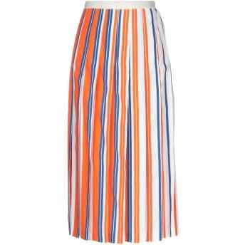 《セール開催中》MANUEL RITZ レディース 7分丈スカート オレンジ 40 レーヨン 100%