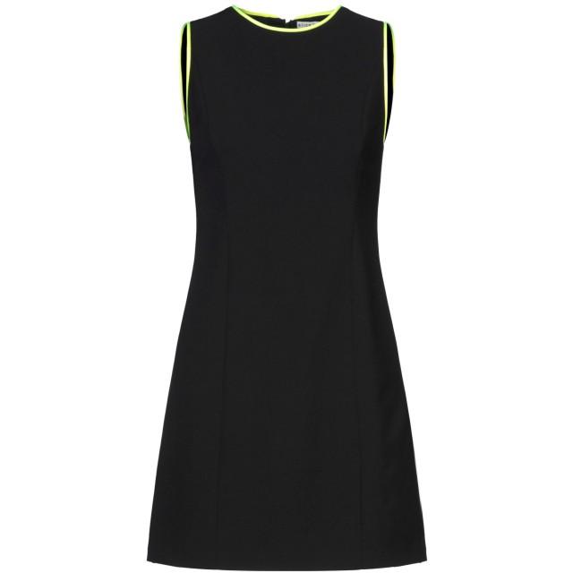 《セール開催中》ALICE + OLIVIA レディース ミニワンピース&ドレス ブラック 0 アセテート 60% / ポリエステル 40% / トリアセテート