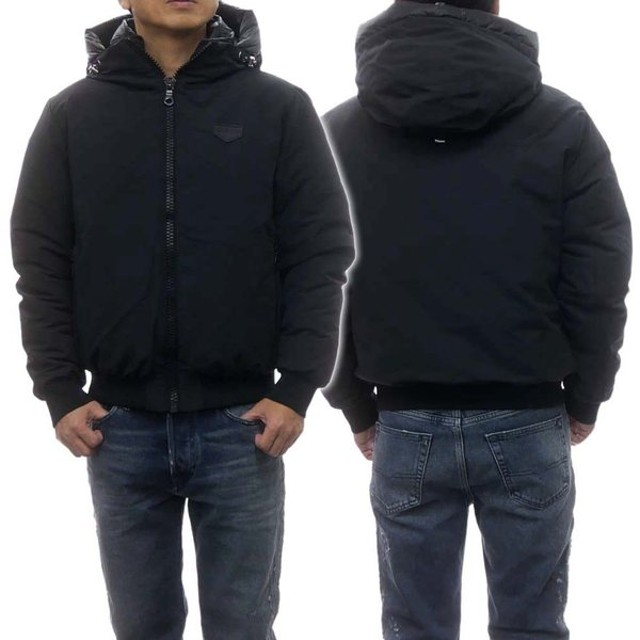 DUVETICA デュベティカ メンズダウンジャケット BRACHIUM / U5030032S00-12340 ブラック