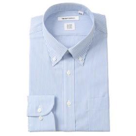 【THE SUIT COMPANY:トップス】【SUPER EASY CARE】ボタンダウンカラードレスシャツ ストライプ〔EC・FIT〕
