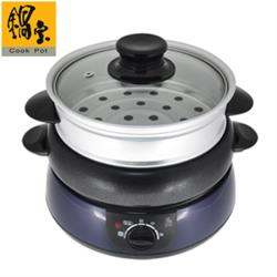 限時下殺  鍋寶 1.2L多功能分離式調理鍋煎煮燉炒蒸火鍋 DH-916(庫)