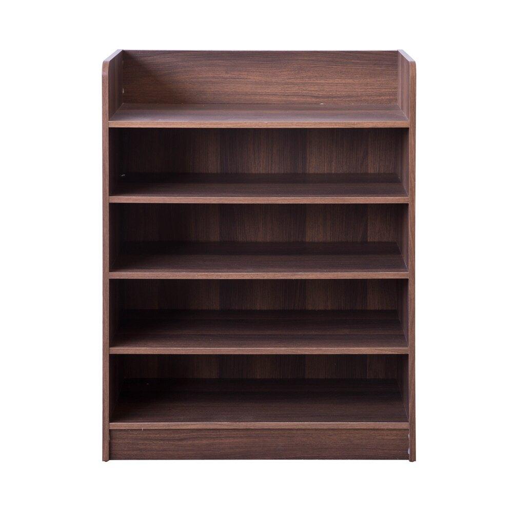 TZUMii 艾拉開放式五層鞋櫃 胡桃木色 60*30*80.1cm