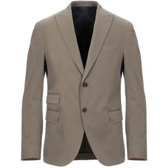 《セール開催中》ELEVENTY メンズ テーラードジャケット ミリタリーグリーン 48 コットン 95% / カシミヤ 4% / ポリウレタン 1%