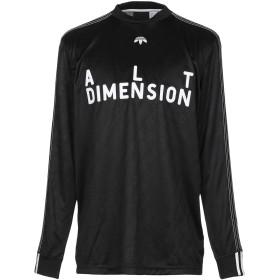 《セール開催中》ADIDAS ORIGINALS by ALEXANDER WANG メンズ T シャツ ブラック XS ポリエステル 100%