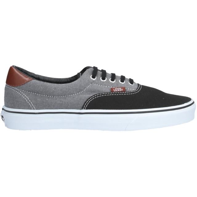 《セール開催中》VANS メンズ スニーカー&テニスシューズ(ローカット) ブラック 10 紡績繊維