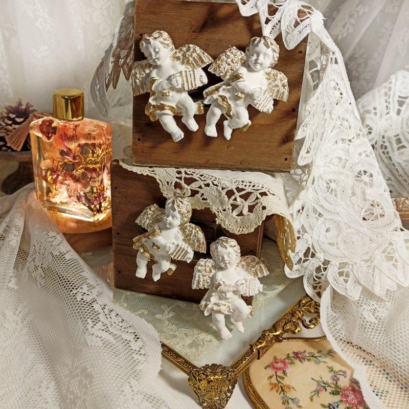 暖心聖誕節・小天使香氛磚/可當磁鐵