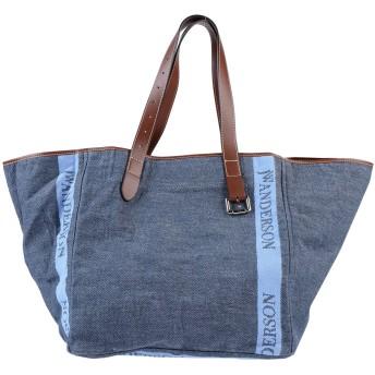 《セール開催中》JW ANDERSON レディース ハンドバッグ ブルー 紡績繊維 / 革